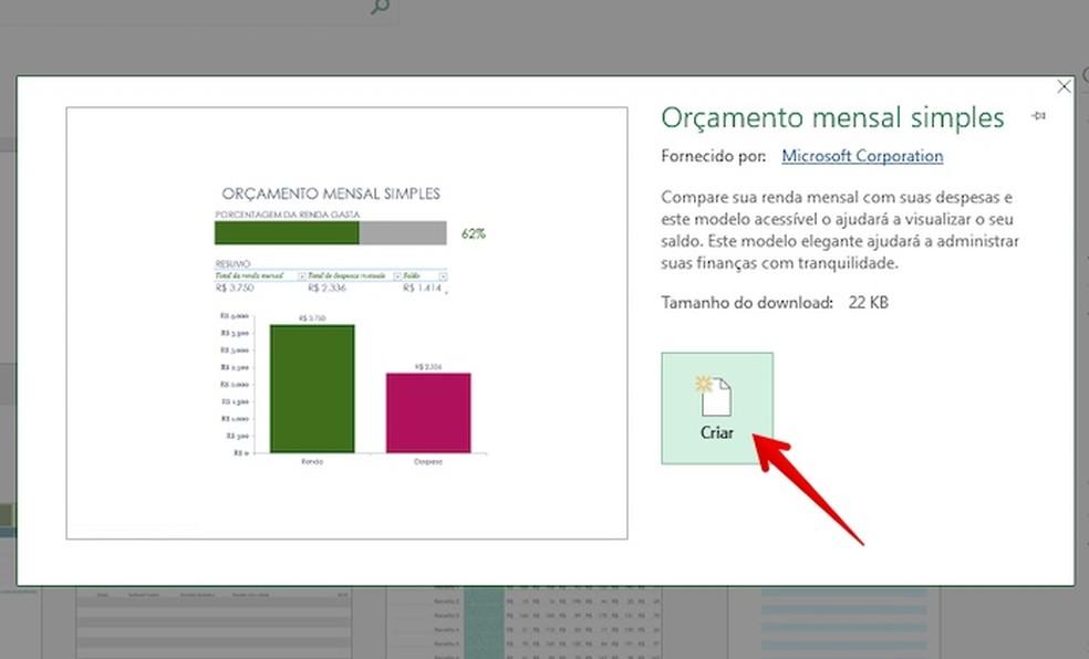Baixe modelos de planilha financeira prontos para o uso através do Excel — Foto: Reprodução/Helito Bijora
