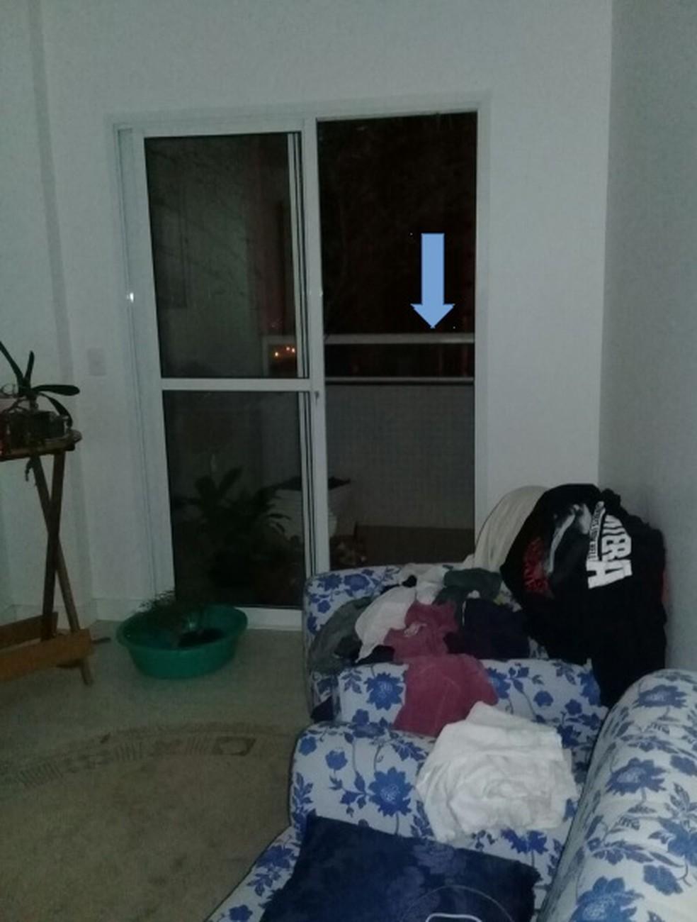 Polícia investiga se Tatiane se jogou ou foi jogada da sacada do prédio onde morava em Guarapuava (Foto: Divulgação/Polícia Civil)
