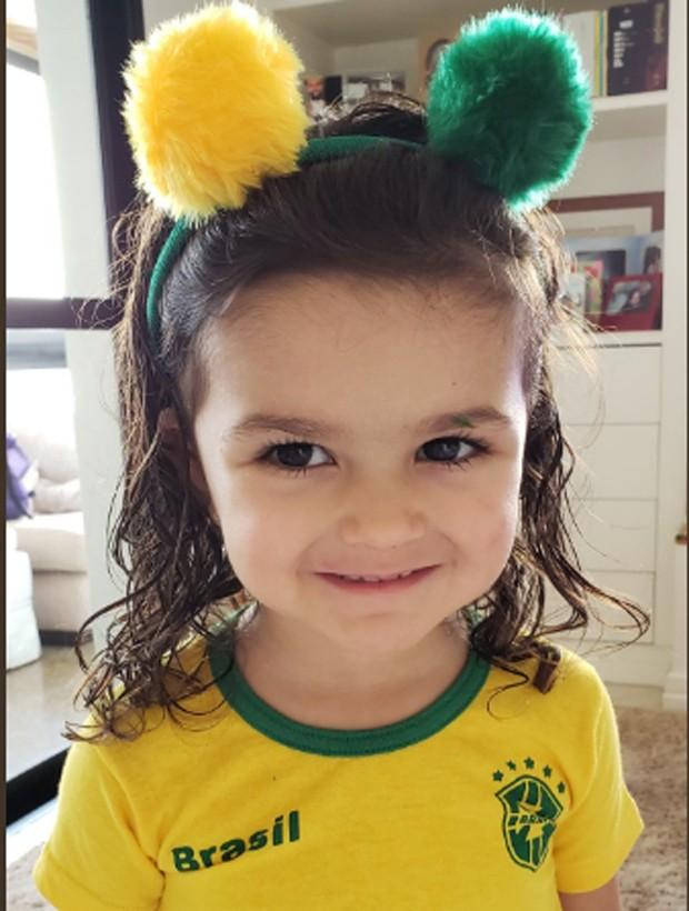 Júlia, filha caçula de Mariana Belém (Foto: Reprodução/Instagram)