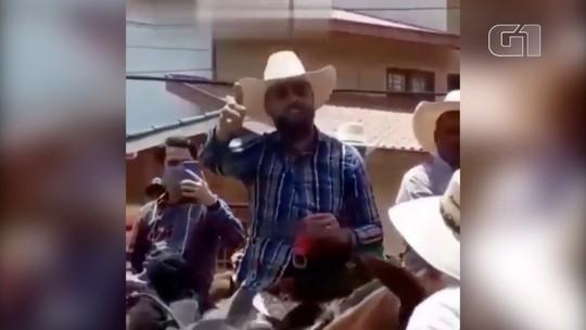 VÍDEO: Zé Neto, da dupla com Cristiano, faz romaria a cavalo a  Aparecida