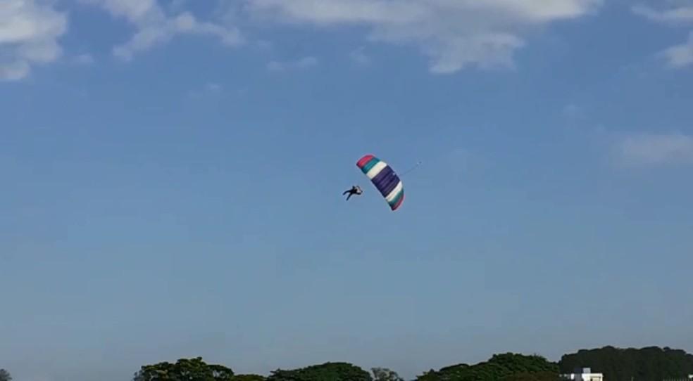 Paraquedista morreu após salto em Boituva — Foto: Arquivo Pessoal