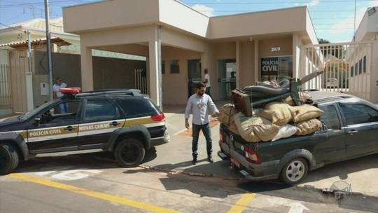 Polícia apreende mais caminhões usados para roubo de café no Sul de MG