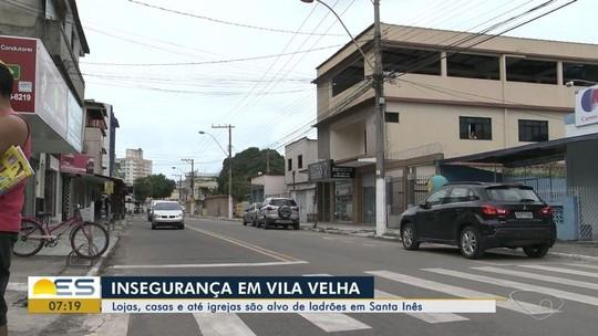 Moradores do bairro Santa Inês, em Vila Velha, cobram ações de segurança pública no ES