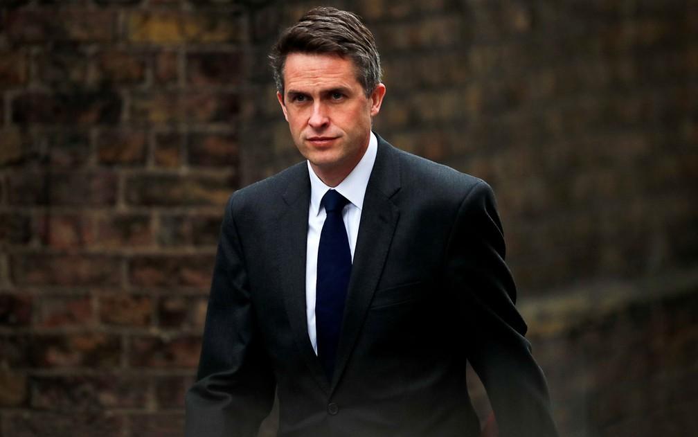 Gavin Williamson foi demitido sob acusação de vazamento de informações sigilosas — Foto: Reuters/Alkis Konstantinidi