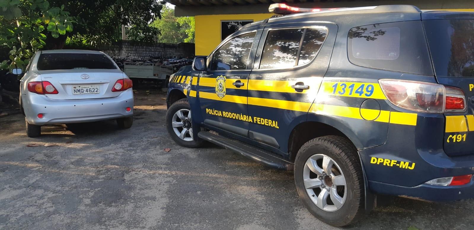 Sargento da PM é preso com veículo roubado e arma de uso restrito na BR-316 no MA - Notícias - Plantão Diário