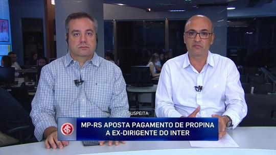 Jornalistas falam sobre o pagamento de valores a ex-dirigentes do Inter em negociações de jogadores