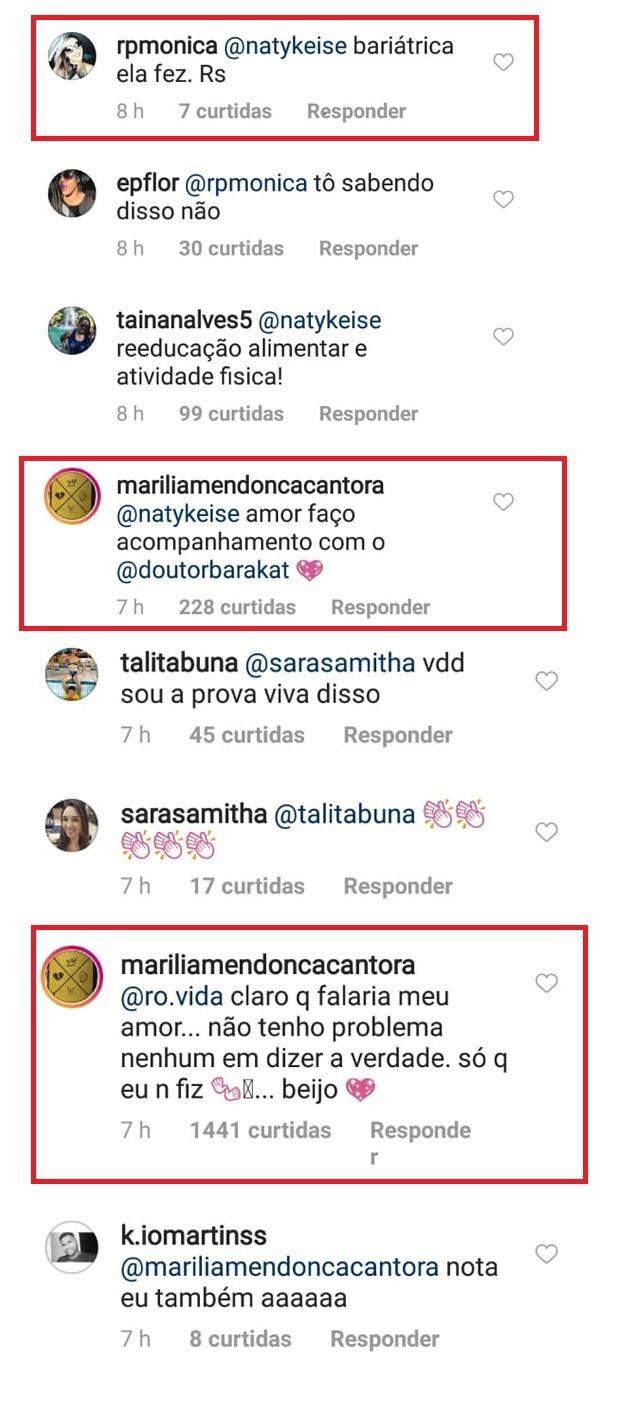 Marília Mendonça nega que tenha feito cirurgia bariátrica (Foto: Reprodução/Instagram)