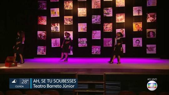Espetáculo homenageia Orlando Silva no Recife