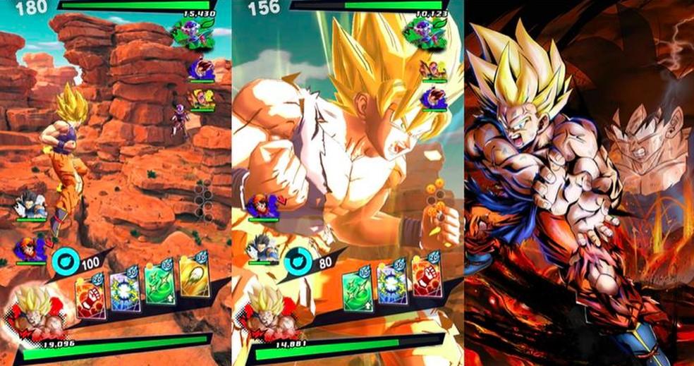 O jogo conta com muita ação e golpes poderosos — Foto: Divulgação/Bandai Namco