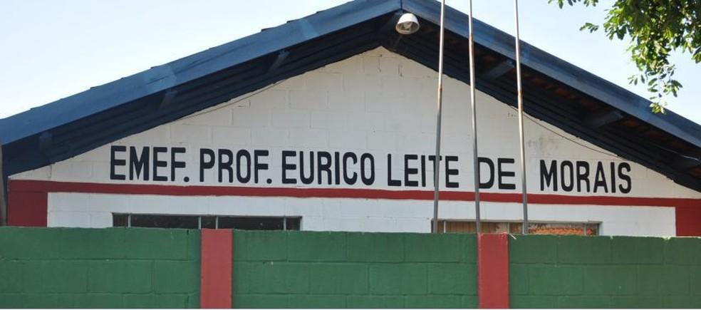 Escola municipal em Adamantina — Foto: Prefeitura de Adamantina