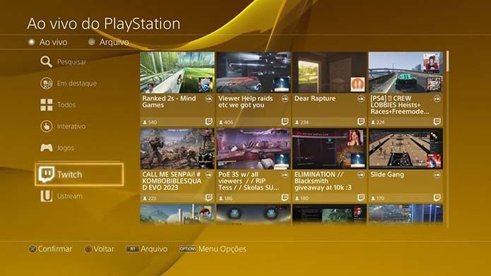 Transmita gameplay pela internet (Foto: Reprodução/Murilo Molina)