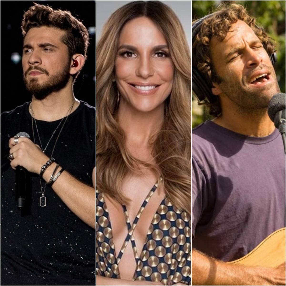 Lives de hoje: Ivete Sangalo, Gustavo Mioto, Jack Johnson e mais shows para ver em casa