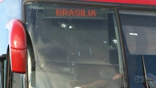 Ladrões que morreram ao assaltar ônibus em Luziânia eram irmãos e tinham fugido da prisão, diz delegado