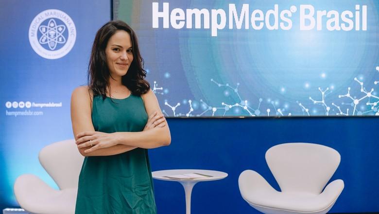Caroline-Hein-vice-presidente-HempMed-Brasil (Foto: Divulgação/ HempMed Brasil)