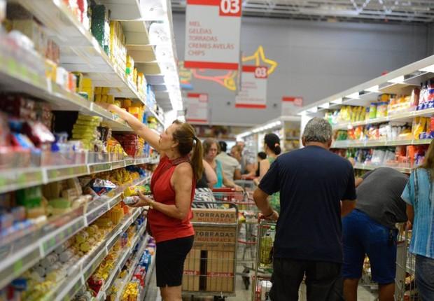 Inflação ; varejo ; consumo ; custo de vida ; cesta básica ; compras ; supermercado ;  (Foto: Tânia Rego/Agência Brasil)