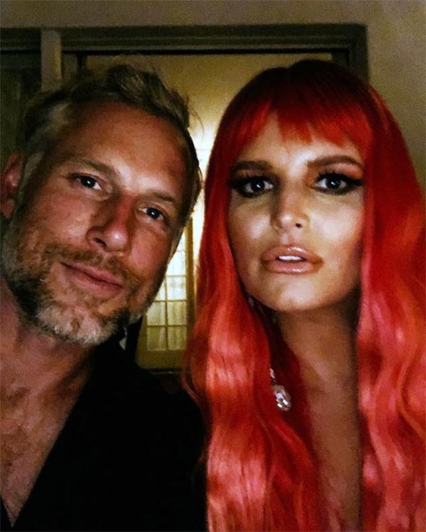 Jessica Simpson e Eric Johnson (Foto: Instagram)