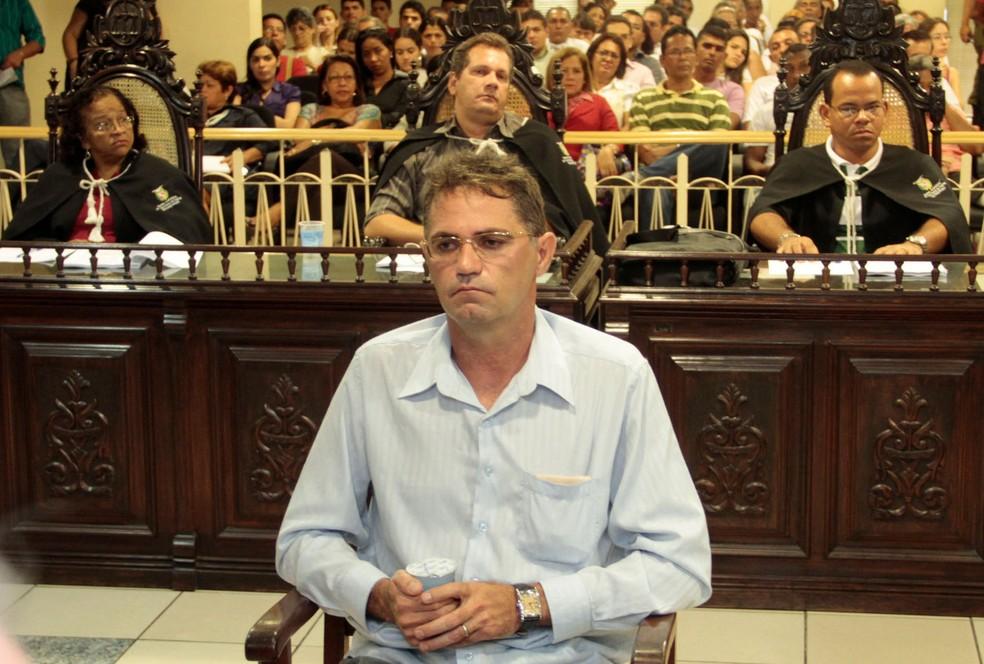 Condenado em 2010, o fazendeiro estava em liberdade desde maio do ano passado por força de uma habeas corpus de Marco Aurélio Mello — Foto: Elivaldo Pamplona / O Liberal