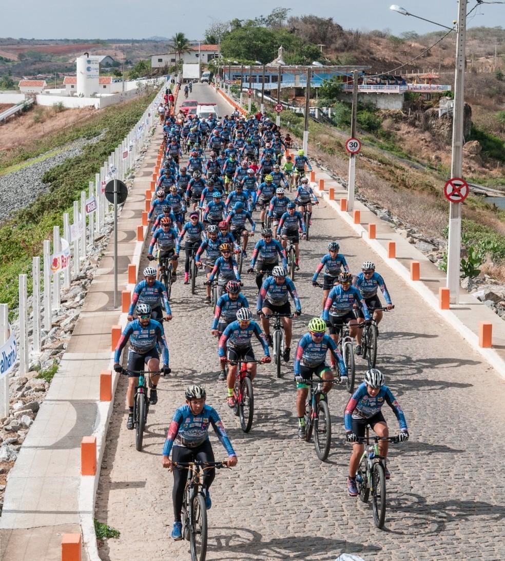 Primeira edição aconteceu em outubro de 2019, reunindo 120 ciclistas — Foto: Divulgação