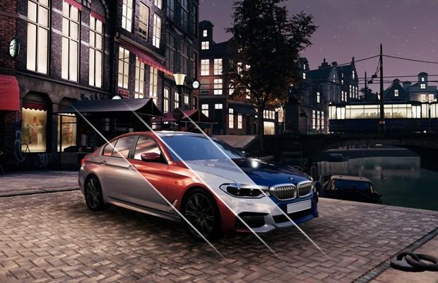 Design de visualização dá vida tridimensional aos carros antes de virarem mockup real  (Foto: Reprodução)
