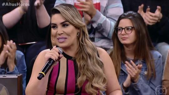 Naiara Azevedo fala sobre a traição que sofreu: 'Mulher não é boba, tem sexto sentido'