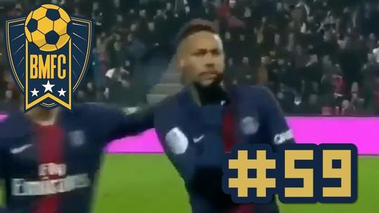 BMFC #59: Pintura do filho de Zidane, defesa quíntupla e MC Neymar
