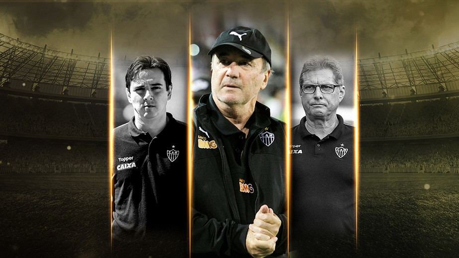 Nova diretoria, velhos defeitos: Atlético-MG terá três técnicos pelo terceiro ano consecutivo