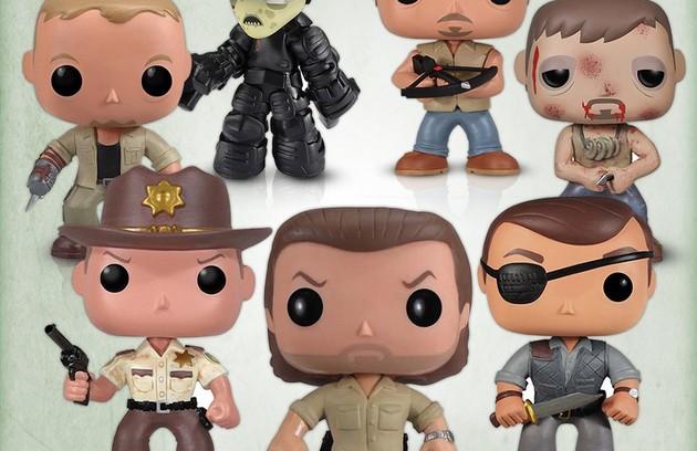 Personagens de 'The walking dead' ganharam versão brinquedo (Foto: Reprodução da internet)