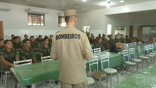 Exército inicia operação de combate a queimadas em áreas de proteção no Pará