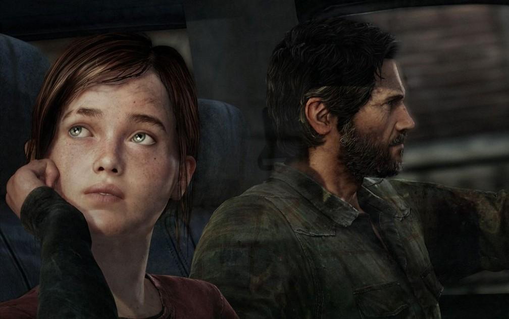 Ellie e Joel no primeiro 'The Last of Us' — Foto: Divulgação