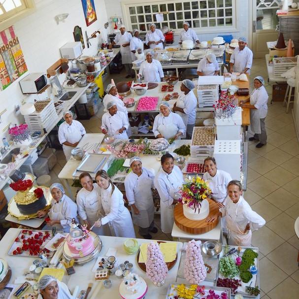 Cozinha da confeiteira Isabella Suplicy (Foto: Reprodução/Instagram)