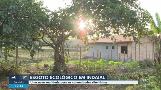 Fossas ecológicas vão ser instaladas em casas de Indaial, no Vale do Itajaí