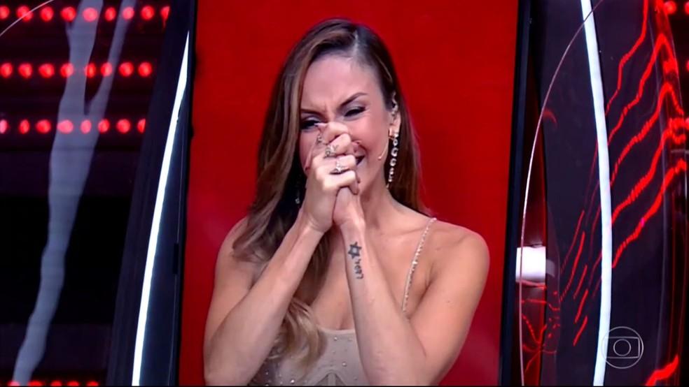 Claudia Leitte chora muito em decisão da final do 'The Voice +' | The Voice  + | Gshow