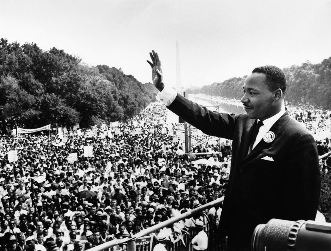 Martin Luther King Jr. em Washington (Foto: Wikimedia Commons)