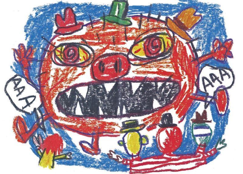 Escrito e desenhado por Enriqueta (Foto: Divulgação)