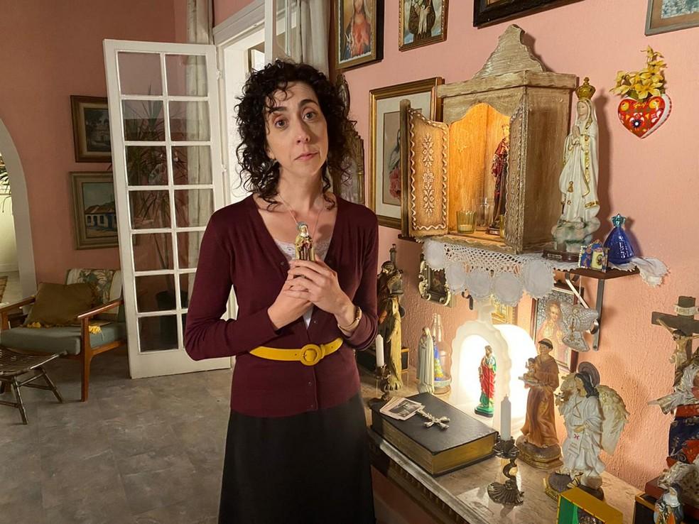 Marianna Armellini é Marlene em 'Salve-se Quem Puder' — Foto: Danilo Togo/Globo