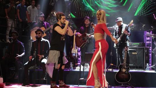 Luan Santana faz dueto inédito com Pabllo Vittar e elogia: 'Está todo mundo babando por ela'