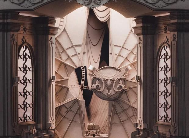Gringotes, de Harry Potter (Foto: Melbourne School of Design/ Reprodução)