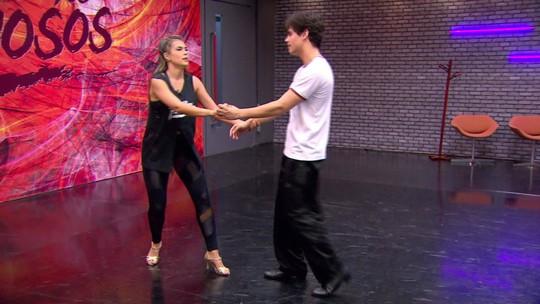 'Dança dos Famosos': veja os ensaios para as apresentações de samba e valsa