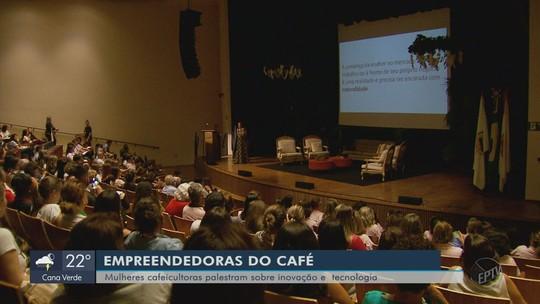 Mulheres cafeicultoras palestram sobre inovação e tecnologia