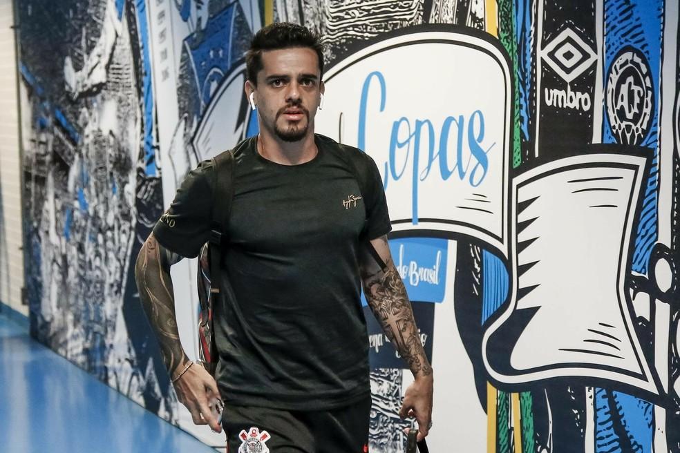 """Fagner é o único lateral-direito """"viável"""" do Corinthians; é preciso um reserva de bom nível — Foto: Rodrigo Gazzanel/Ag. Corinthians"""
