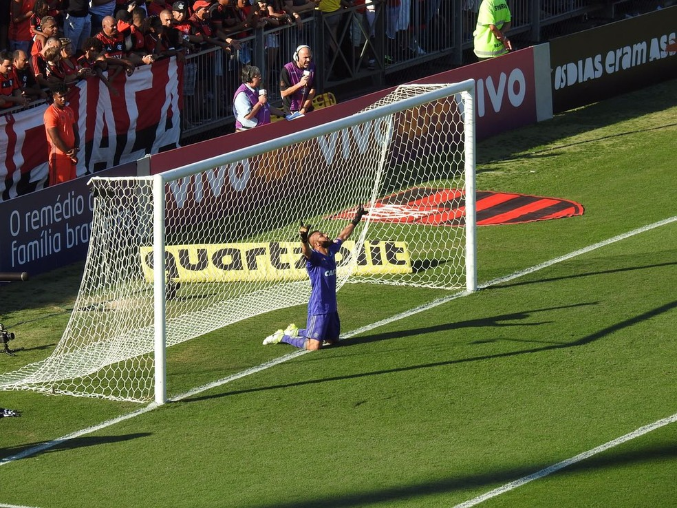 Alex Muralha Flamengo x Sport (Foto: Fred Gomes/GloboEsporte.com)