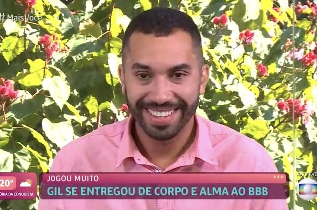 Gil no 'Mais você' (Foto: TV Globo)