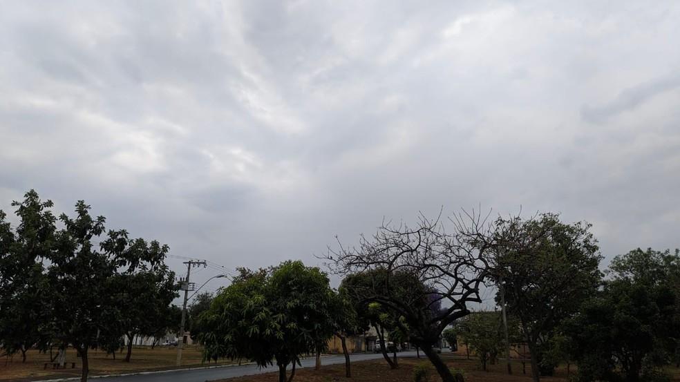Céu nublado com chance de chuva durante a semana do Natal. — Foto: Foto: Vanessa Pires/G1
