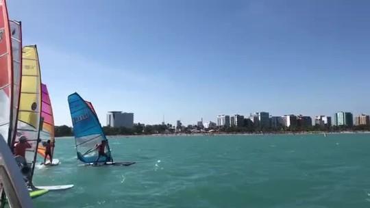 Campeonato Brasileiro de Windsurf em Maceió