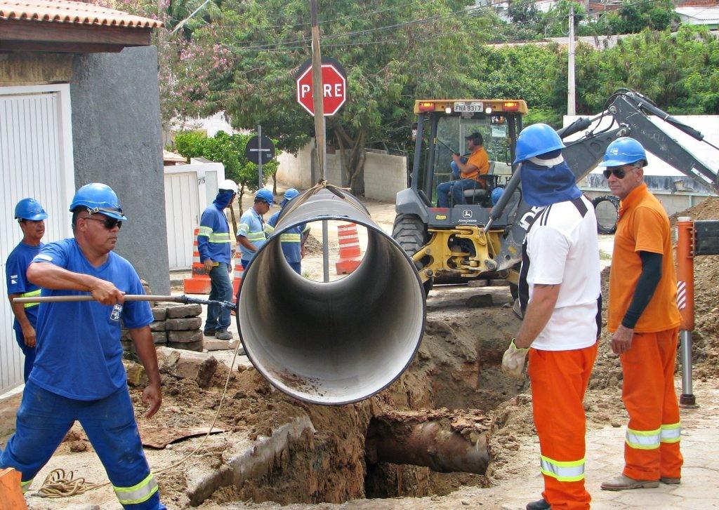 Saae interliga nova adutora e interrompe abastecimento de água em Sorocaba