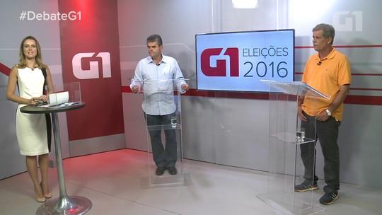 Candidatos de Duque de Caxias discutem propostas em debate no G1