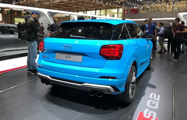 Audi SQ2 é revelado em Paris  (Foto: Michelle Ferreira/Autoesporte)