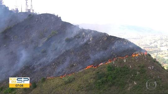 Incêndios atingem Parque do Carmo e o Pico do Jaraguá