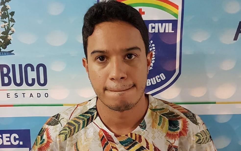 Diego Machado Costa, preso no Recife, é conhecido como 'estelionatário galã' — Foto: Polícia Civil/Divulgação