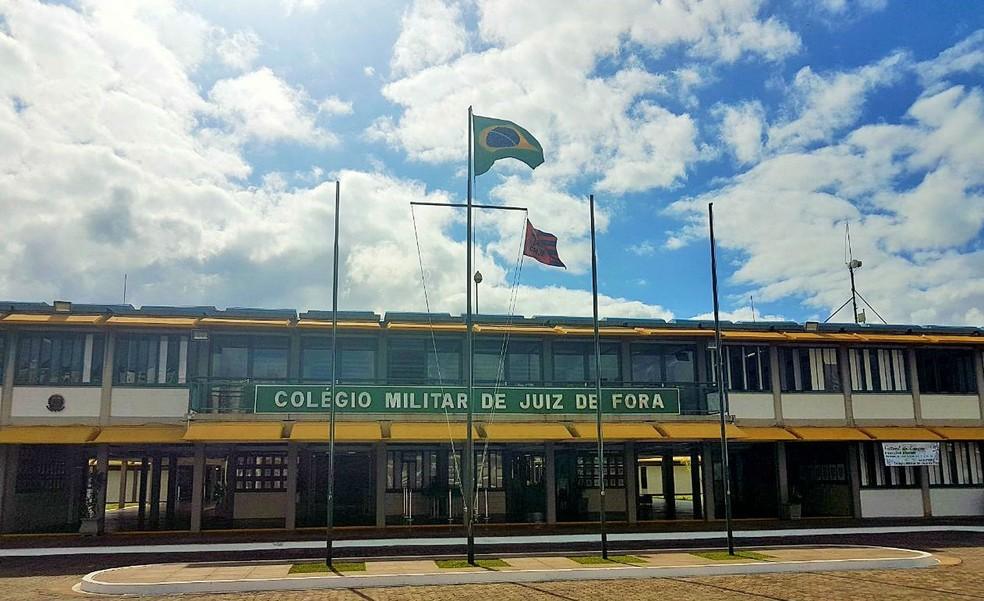 Caso de bullying ocorreu no Colégio Militar de Juiz de Fora (Foto: João Beraldo/Divulgação)